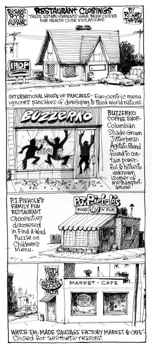 Richard's Poor Almanac on Sunday September 20, 2015 Comic Strip