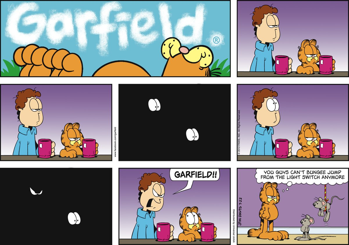 Jon:  GARFIELD!!