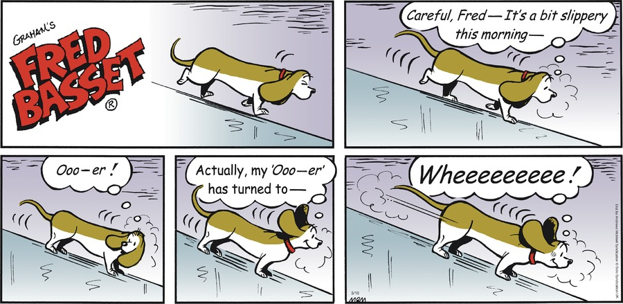 Fred Basset Comic Strip for March 10, 2019