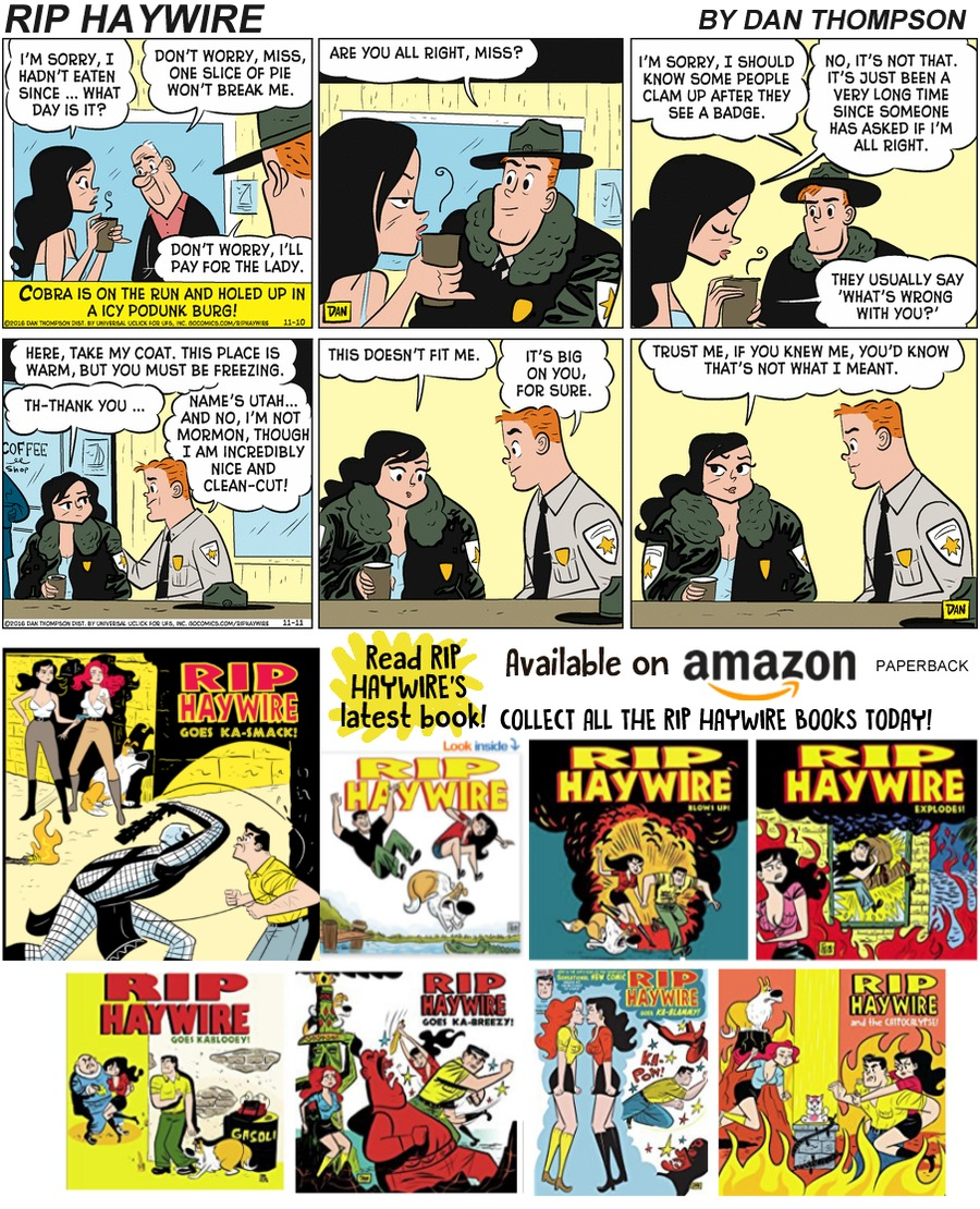 Rip Haywire Comic Strip for December 15, 2019