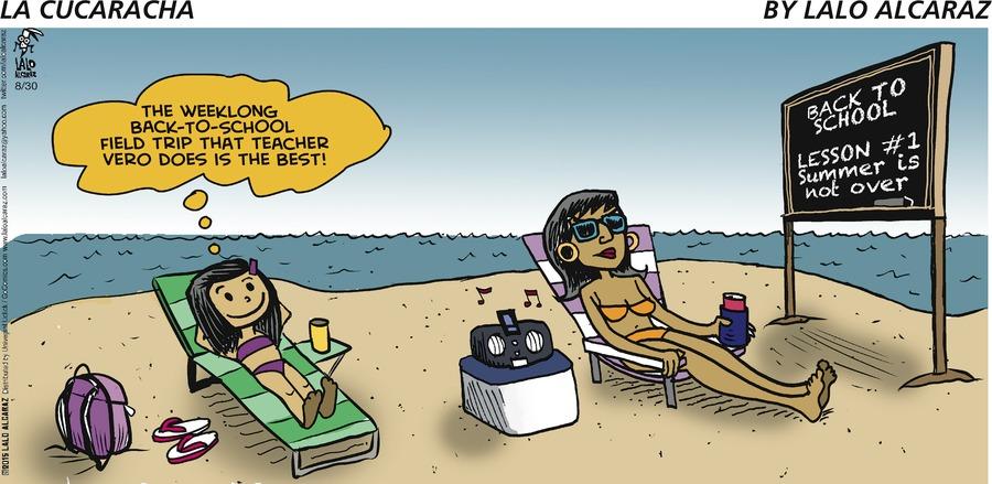 La Cucaracha Comic Strip for August 30, 2015