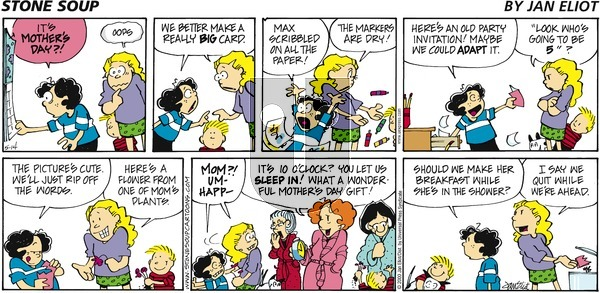 Stone Soup on Sunday May 14, 2000 Comic Strip