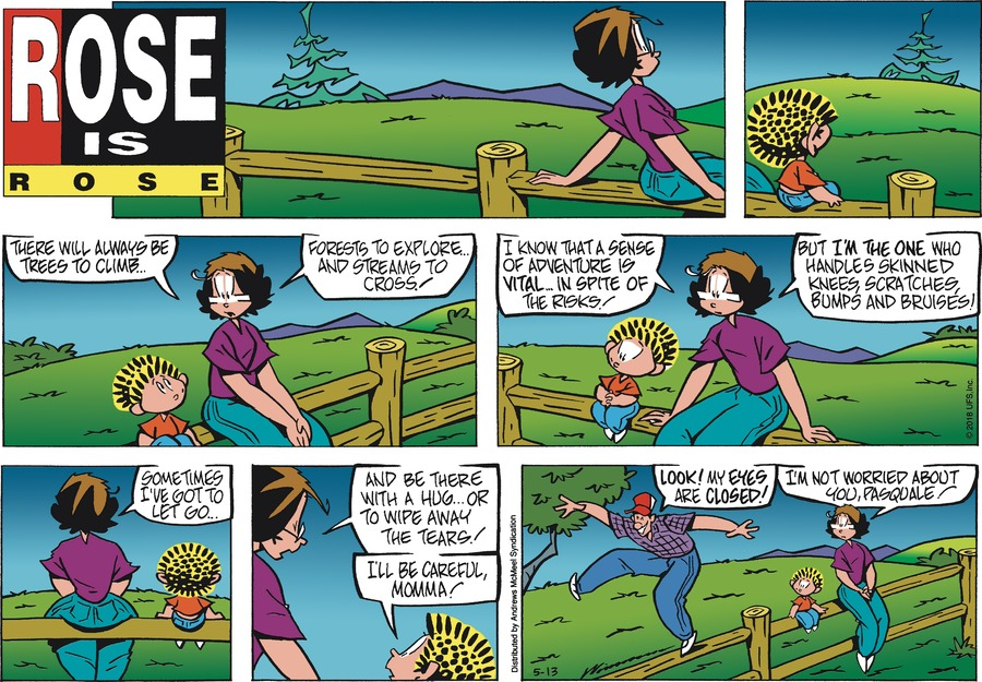 Rose is Rose Comic Strip for May 13, 2018