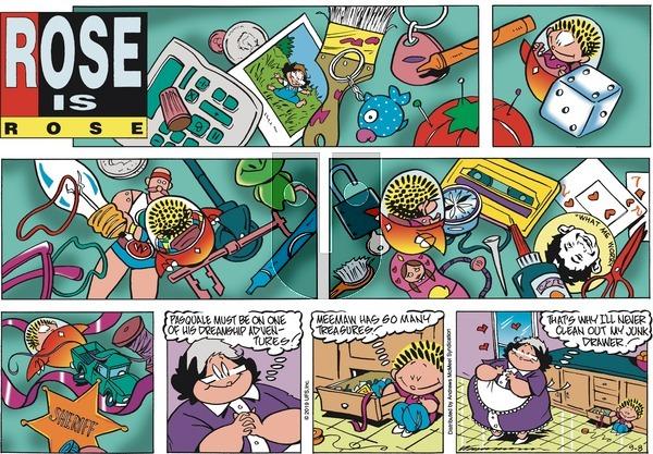 Rose is Rose - Sunday September 8, 2019 Comic Strip