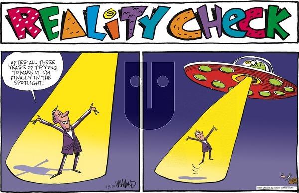 Reality Check on Sunday October 10, 2021 Comic Strip