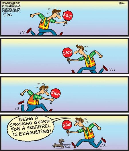 Free Range Comic Strip for May 26, 2021