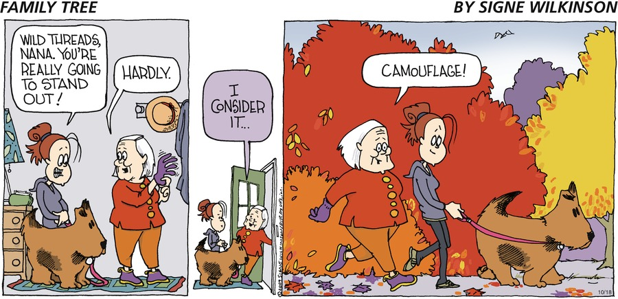 Family Tree by Signe Wilkinson on Sun, 24 Oct 2021