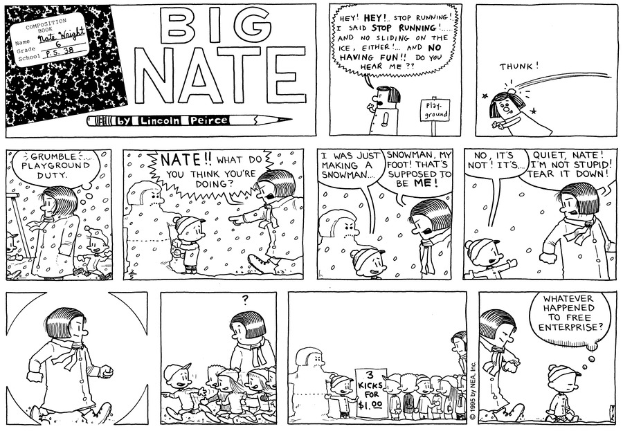 Big Nate: First Class Comic Strip for February 16, 2020