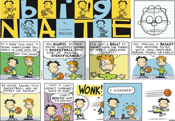 Big Nate - Sunday September 29, 2019 Comic Strip