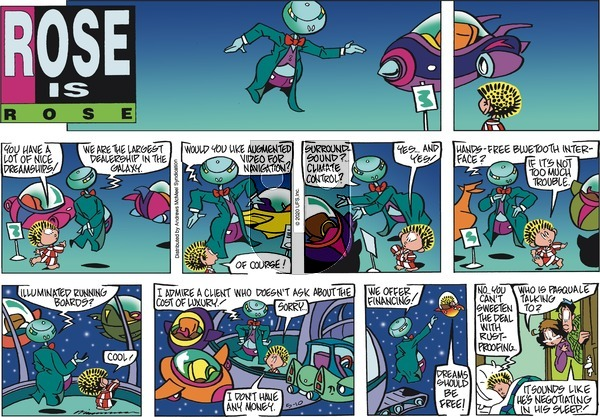 Rose is Rose on Sunday May 10, 2020 Comic Strip