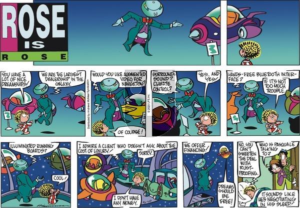 Rose is Rose - Sunday May 10, 2020 Comic Strip