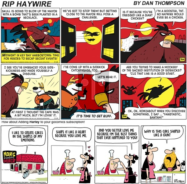 Rip Haywire on Sunday January 17, 2021 Comic Strip