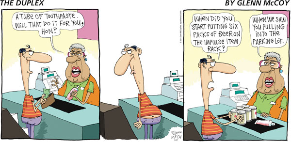 The Duplex for Mar 27, 2011 Comic Strip