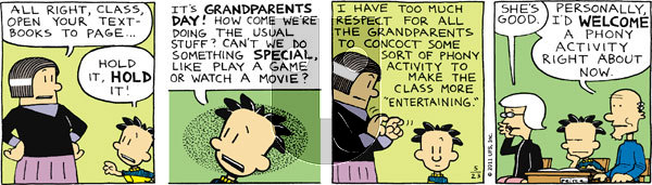Big Nate on Monday May 23, 2011 Comic Strip