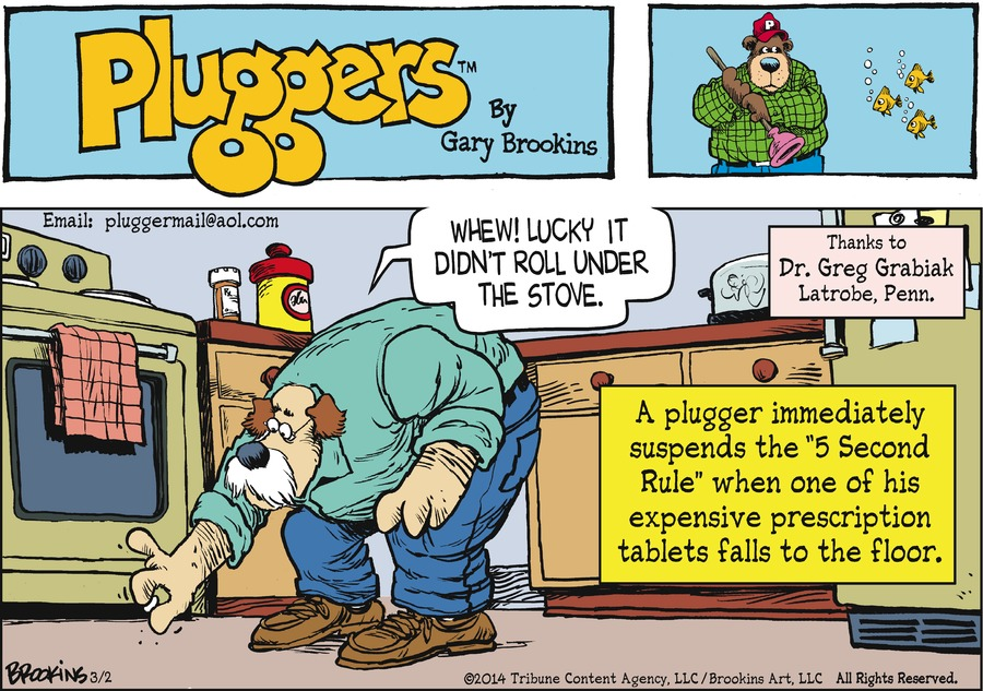 Pluggers Comic Strip for March 02, 2014