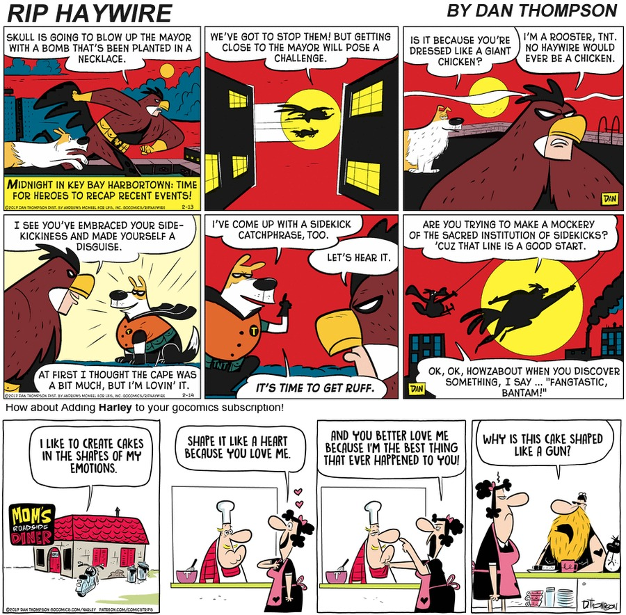 Rip Haywire Comic Strip for January 17, 2021