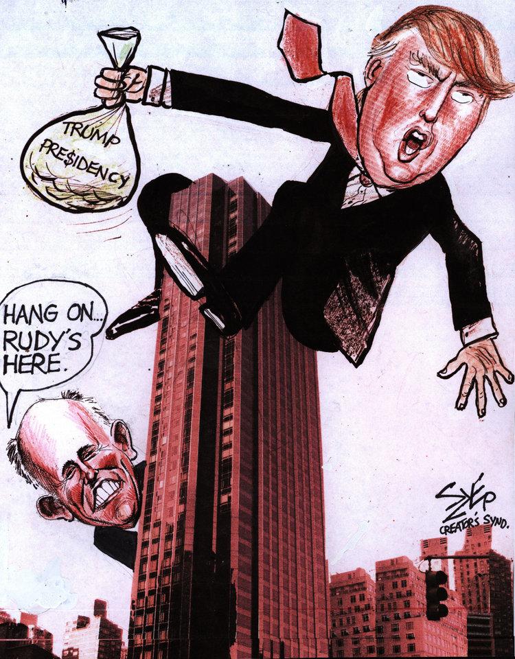 Paul Szep Comic Strip for April 23, 2018