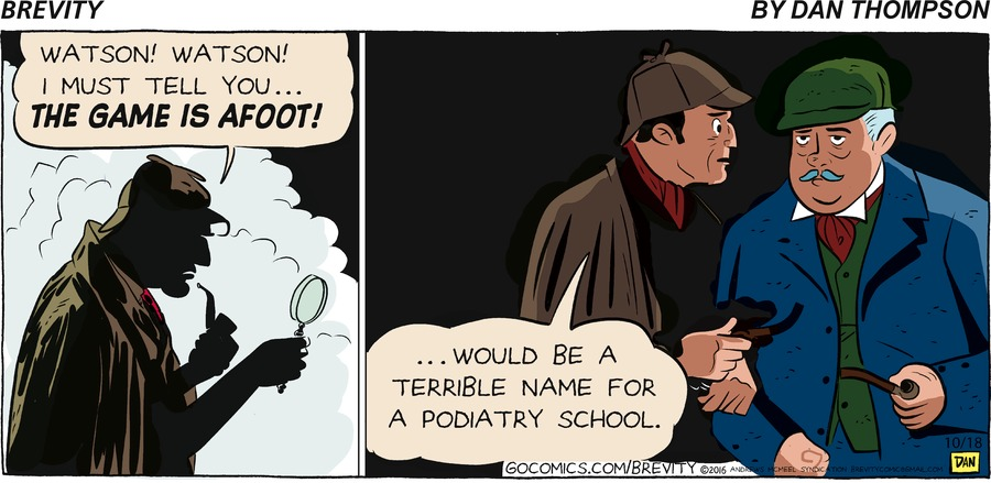 Brevity Comic Strip for October 18, 2020