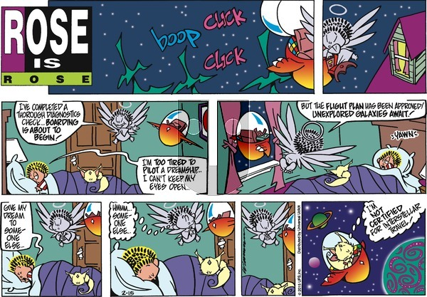 Rose is Rose - Sunday February 15, 2015 Comic Strip