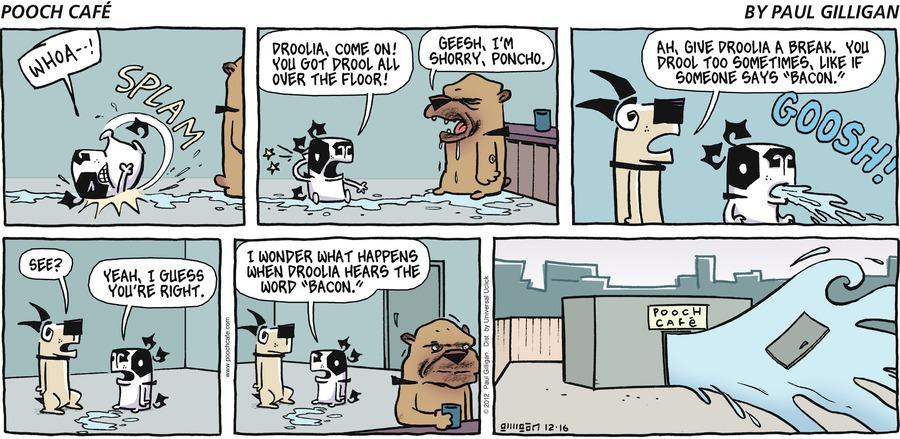 Pooch Cafe Comic Strip for December 16, 2012