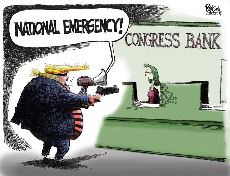 Steve Benson by Steve Benson for March 15, 2019