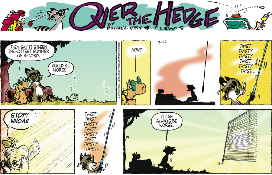 Over the Hedge Comic Strip for September 22, 2019