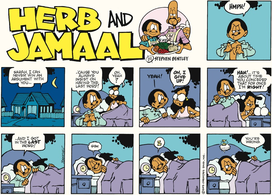 Herb and Jamaal for Mar 24, 2013 Comic Strip