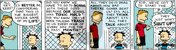 Big Nate on Tuesday October 21, 2008 Comic Strip