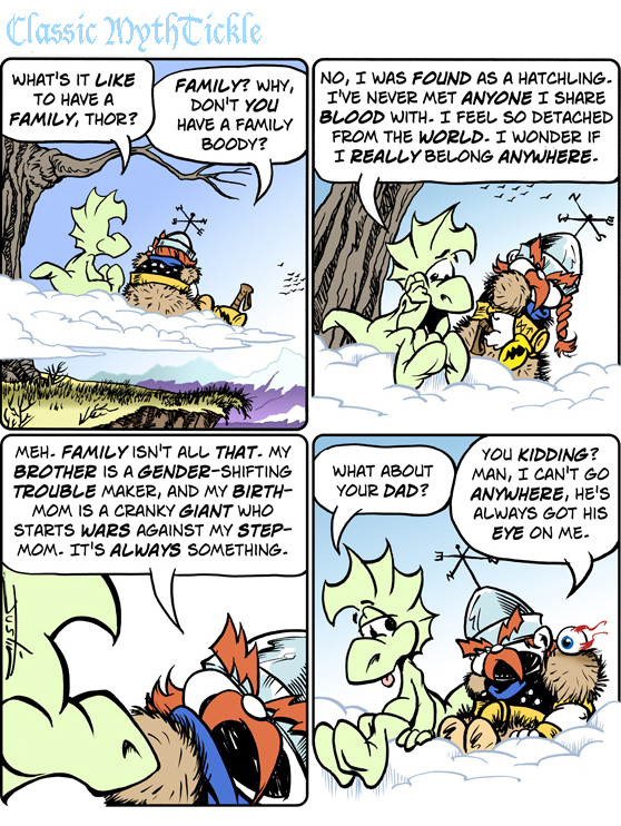 MythTickle Comic Strip for June 19, 2015