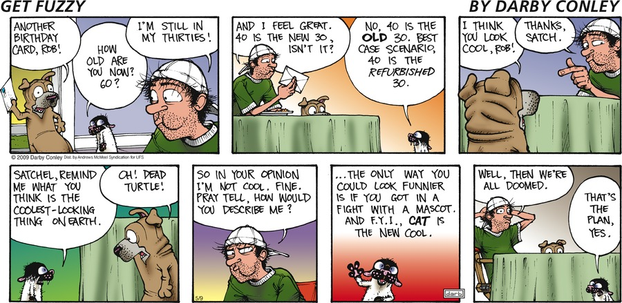 Get Fuzzy Comic Strip for May 09, 2021