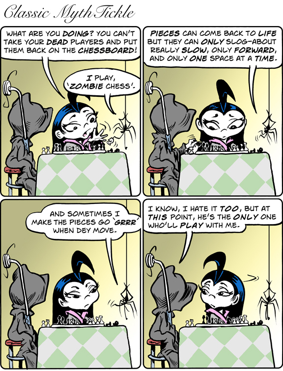 MythTickle for Aug 12, 2013 Comic Strip