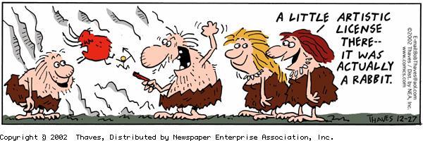 Frank and Ernest Comic Strip for December 27, 2002
