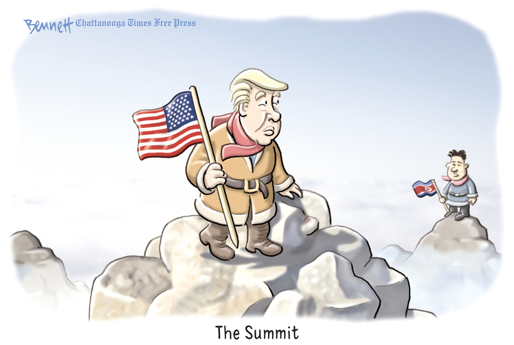 Clay Bennett by Clay Bennett for March 01, 2019
