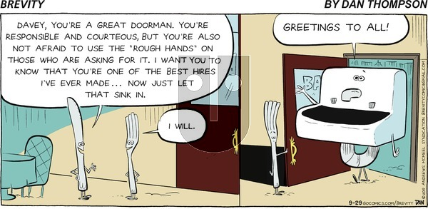 Brevity on Sunday September 29, 2019 Comic Strip