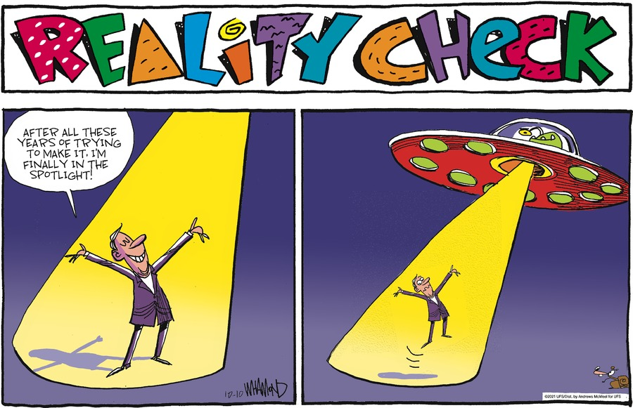 Reality Check by Dave Whamond on Sun, 10 Oct 2021