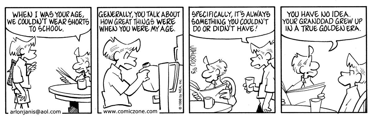 Arlo and Janis for Sep 3, 1998 Comic Strip