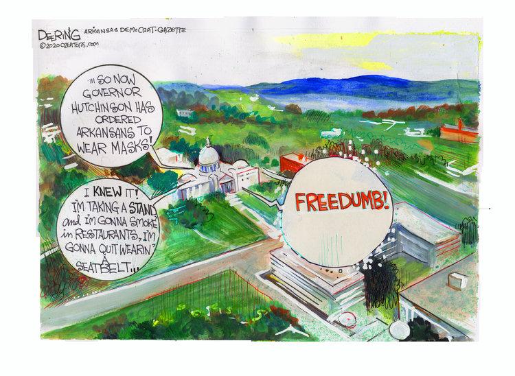 John Deering Comic Strip for July 18, 2020