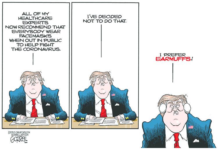 Bob Gorrell Comic Strip for April 07, 2020