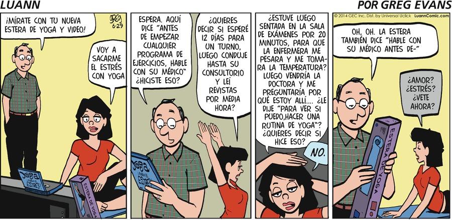 Luann en Español by Greg Evans on Sun, 21 Feb 2021