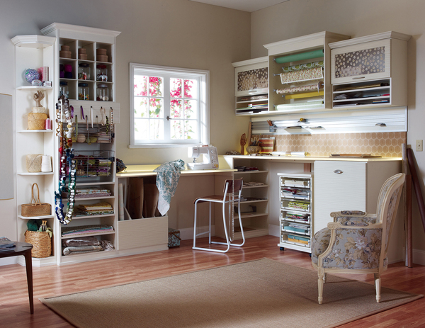 If you find yourself getting wrapped up while searching your home for paper and supplies to cover your gifts in a clever way, setting up a gift-wrapping station may be the solution. With a place for everything -- including papers and ribbons -- all items can be easily put back in place.