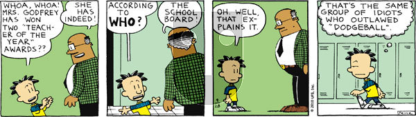 Big Nate on Tuesday September 28, 2010 Comic Strip