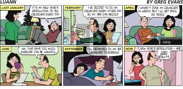 Luann on Sunday November 5, 2017 Comic Strip