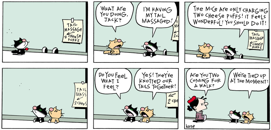 Ten Cats Comic Strip for January 20, 2020
