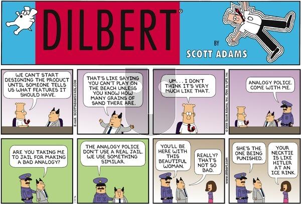 Dilbert - Sunday January 22, 2006 Comic Strip