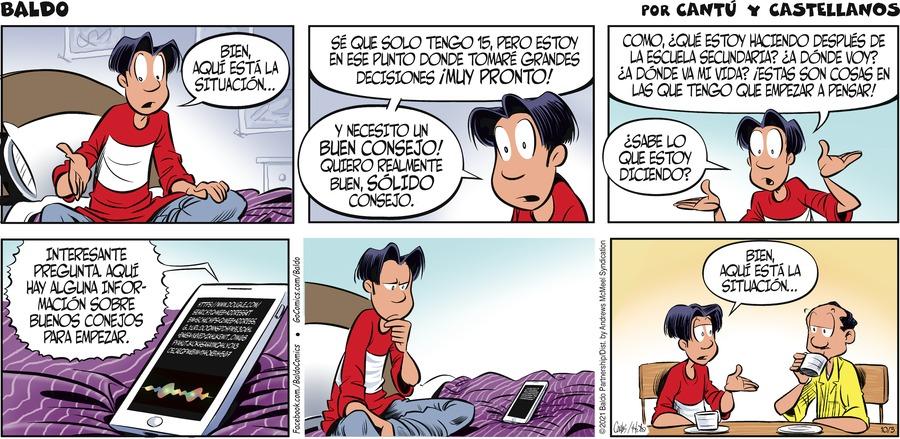 Baldo en Español by Hector D. Cantú and Carlos Castellanos on Sun, 03 Oct 2021