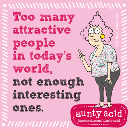 Aunty Acid by Ged Backland for September 03, 2019