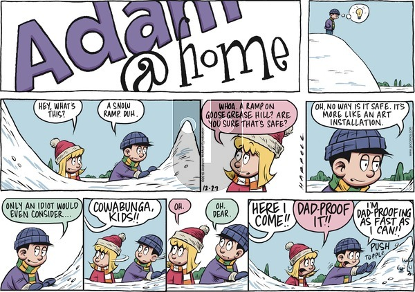 Adam@Home on Sunday December 29, 2019 Comic Strip