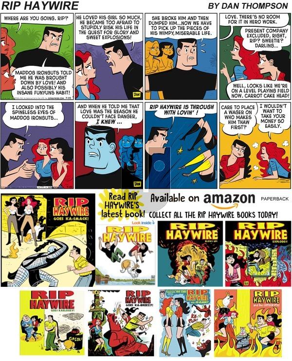 Rip Haywire on Sunday June 23, 2019 Comic Strip