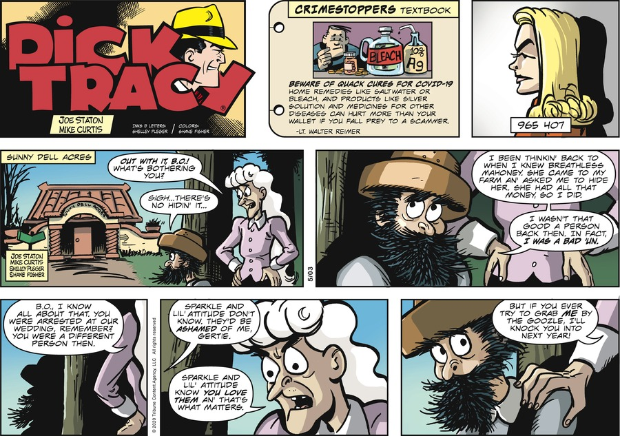 Dick Tracy by Joe Staton and Mike Curtis on Sun, 03 May 2020