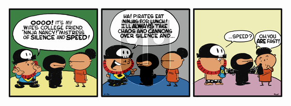 Pirate Mike on Wednesday February 13, 2019 Comic Strip